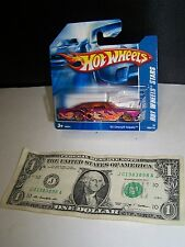 Hot Wheels Magenta '65 Chevy Impala - Dragon - All Stars # 58 - 2008 -Short Card