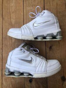 2005 Nike Shox VC IV White Metallic Silver 310379-102 Men's size 10
