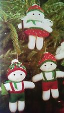 Snowbabies Christmas Doll Toy Tree Sewing Pattern