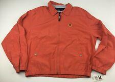 NWT Vintage Tommy Hilfiger Full Zip Jacket XL Salmon...