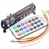 Wireless Bluetooth 12V MP3 WMA Decoder Board Audio Module USB TF Radio Remote