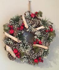Christmas Winter Artificial Wreath- New
