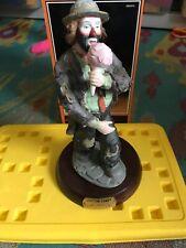 Emmett Kelly Jr. Figurine- Cotton Candy