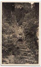 Australia; Scenic Railway, Katoomba RP PPC, 1937 PMK, Faults, But Rare
