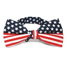 American Flag Bow Tie, FREE SHIPPING In the USA, Ships From the USA