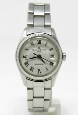 Orologio Baume & Mercier baumatic automatic watch vintage stainless steel clock