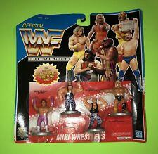 Hasbro WWF WWF ROYAL RUMBLE MINI WRESTLERS Figures 1991 Brutus Bushwhackers NEW