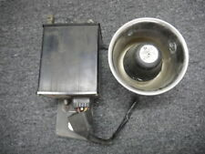 Federal Signal Harley Davidson Motorcycle Siren U750M Amp + Speaker MC100