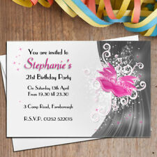 buy birthday invitation cards for adults ebay