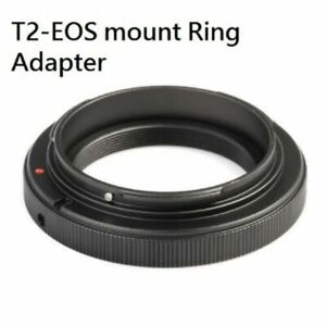 T2-EOS T2 Screw Thread Mount Lens to EOS EF EF-S Camera Adapter UK