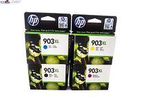 4x ORIGINAL DRUCKERPATRONEN HP 903XL BK/C/M/Y-SET f. OFFICEJET 6950 6960 6970u.a