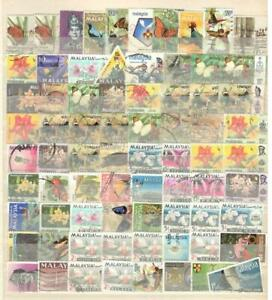 MALAYSIA - 74 STAMPS - USED