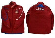 2010 PUMA CZECH REPUBLIC PLAYER COAT COACHES FOOTBALL JACKET WINTER PARKA SOCCER