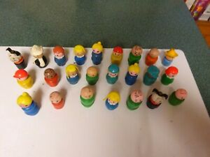 Fisher Price vintage Little People Lot