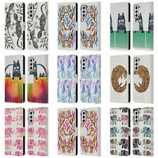 Official Cat Coquillette Animals 2 Leather Book Wallet Case For Samsung Phones 4