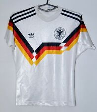 GERMANY NATIONAL TEAM 1990/1992 HOME FOOTBALL SHIRT #10 ADIDAS SIZE L/XL KIDS
