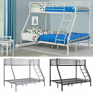 Kinderbett Hochbett Etagenbett Stockbett Doppelstockbett Metall Bett Juskys®