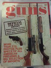 Vintage Larry Koller'S New 1968 Guns Annual Magazine