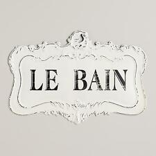 Le Bain Sign: White - Small