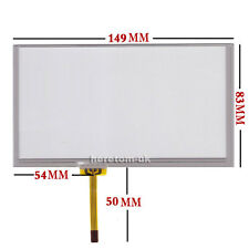 """6.1"""" 6.1 inch Resistive Touch screen Digitizer glass 149*83mm For CLAA061LA0CCW"""