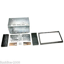 CT23RT01A RENAULT LAGUNA II 2002 to 2005 BLACK DOUBLE DIN FASCIA ADAPTER KIT
