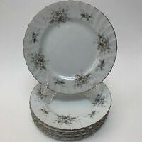 Mikasa Lady Margaret 9309 Bread and Butter Plates Japan Floral Lot of 7