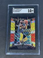 2018 Panini Select Tri-Color Prizm Concourse #29 Aaron Holiday RC SGC 10 PSA ??