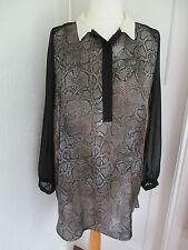 George Collar Shirt Dresses for Women