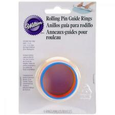 Wilton Fondant 20in Rolling Pin Guide Rings