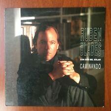 Ruben Blades Con Son Del Solar - Caminando [1991] Vinyl LP Latin Salsa Rock