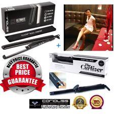 Corioliss Curlizer Curling Wand + C3 Black Hair Straightener - 🇪🇸🇫🇷🇩🇪