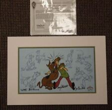 And Scooby-Doo Makes Two Limited Cel Scooby Doo RARE 3x SIGNED Hanna-Barbera
