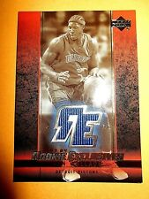03/04 UD Rookie Exclusives Ben Wallace Game Used Jersey NM
