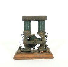 1884 Edison Bi-Polar Motor / Dynamo * Early & Very Uncommon * 3-Coil Armature