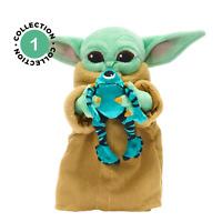 Disney Star Wars Mandalorian Baby Yoda The Child With Sorgan Frog Mini plush toy