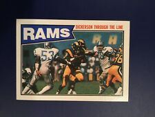 1987 Topps #144 ERIC DICKERSON Team Leaders Los Angeles Rams NM-MINT