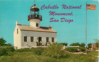 Postcard Cabrillo National Monument, San Diego, CA