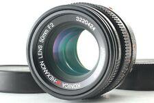 [OPTICS MINT] Konica M-HEXANON 50mm F2 MF Lens for Leica M Mount From Japan