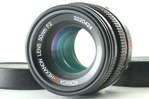 [OPTICS NEAR MINT] Konica M-HEXANON 50mm F2 MF Lens for Leica M Mount From Japan