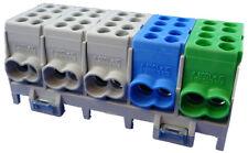 Hauptleitungsklemme 25 mm² Klemmstein Abzweigklemme Anschlussklemme 5 pol. 25qmm