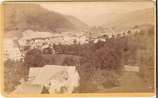 CDV photo Historische Ansicht Markt Weyer - 1878
