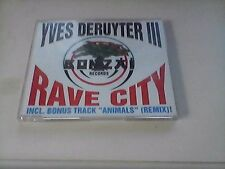 Bonzai Records  Yves Deruyter 3  Rave City    Maxi