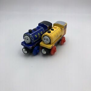 Thomas Friends Wooden Railway Bill And Ben SCC Twins Yellow Blue