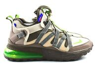 Nike Air Max 270 Bowfin Mens Size 11 Shoes AJ7200 007 Electric Green Brown