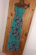 Jane Norman strapless maxi ball gown evening party prom butterfly dress size 6