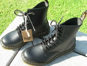 The Original Doc Martin black leather ankle boots. Air Wair bouncing sole. Sz 6