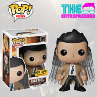FUNKO POP SUPERNATURAL JOIN THE HUNT CASTIEL #95 EXCLUSIVE HOT TOPIC