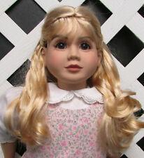 "Doll Wig, Monique ""Lexy"" Size 4 in Golden Strawberry Blonde"
