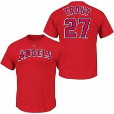 Majestic Men Mike Trout MLB Shirts