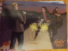 Upper Deck Firefly the Verse #16 The Train Job Returning the Goods LEATHER 37/99